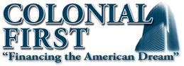 COLONIAL FIRST MORTGAGE Logo